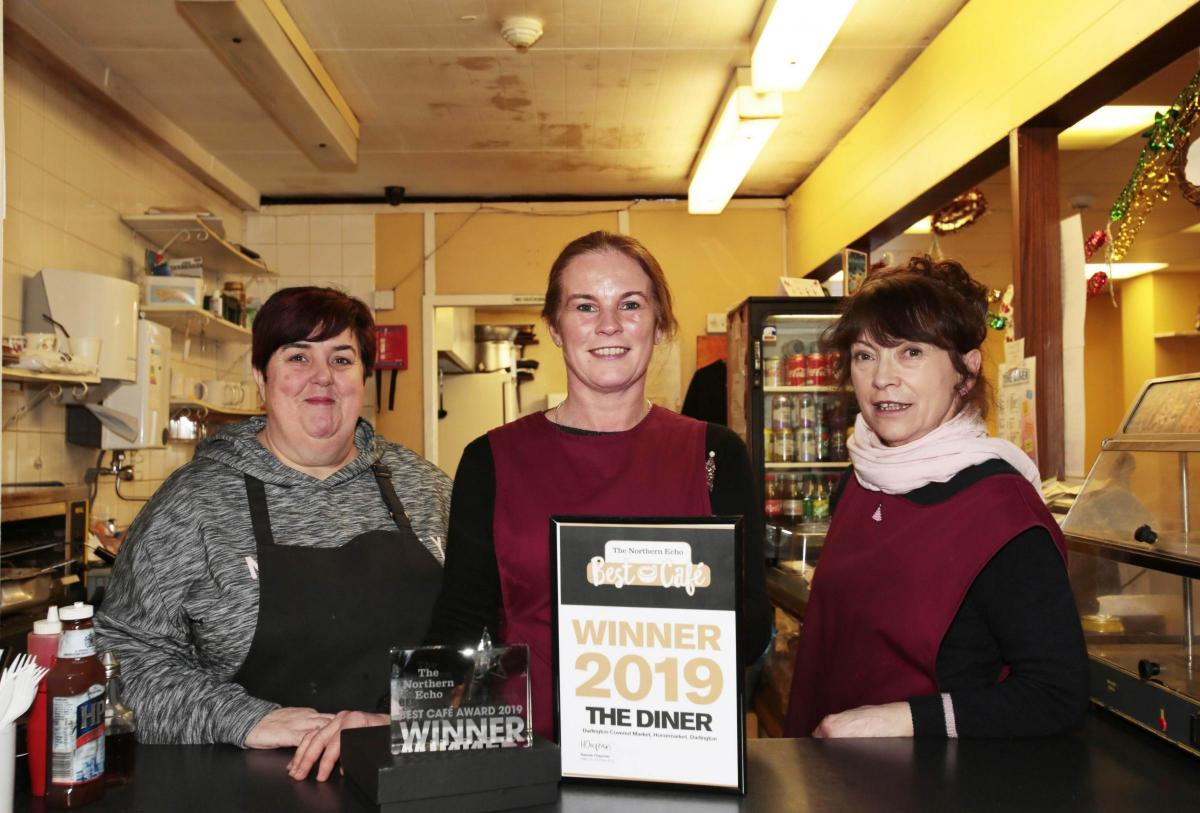 The Diner, Darlington, wins The Northern Echo's Best Cafe Award